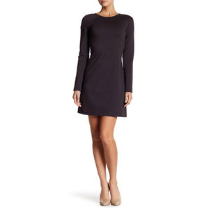 Wolford Molly Long Sleeve Knit Dress In Raven